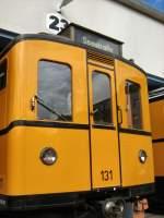 Hist. Fahrzeuge/66603/hist-grossprofilwagen-131-in-der-hw HIST. GROSSPROFILWAGEN 131 in der HW Seestrasse, Berlin 2008