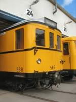 Hist. Fahrzeuge/66605/hist-grossprofilwagen-588-in-der-hw Hist. Großprofilwagen 588 in der Hw Seestrasse