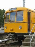 Hist. Fahrzeuge/69150/zug-2000-in-der-hw-seestrasse Zug 2000 in der Hw Seestrasse - Sonderfahrt