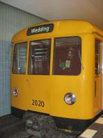 Grosprofil - 2000-/72764/d-zug-2000--auf-der-u6-mit D-Zug (2000-) auf der U6 mit Ziel Wedding, Berlin 2008