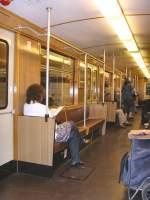 Grosprofil EIII-Zug/69120/innenansicht-eiii-zug-auf-der-u52009 Innenansicht EIII-Zug auf der U5,2009