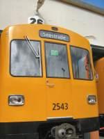 Grosprofil  Nr 2400-2999/66606/grossprofilwagen-2543-in-der-hw-seestrasse Großprofilwagen 2543 in der Hw Seestrasse, Berlin 2008