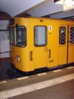 Kleinprofil Nr 500-599/96228/wagen-548-auf-der-u-4 Wagen 548 auf der U 4  innsbrucker Platz