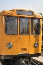Kleinprofil Nr 600-699/66327/u-bahn-kleinprofil-wagen-666-berlin-2005 U-Bahn Kleinprofil, Wagen 666, Berlin 2005