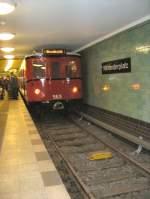 alexanderplatz/117505/hist-grossprofilwagen-im-u-bhf-alexanderplatz Hist. Großprofilwagen im U-Bhf Alexanderplatz